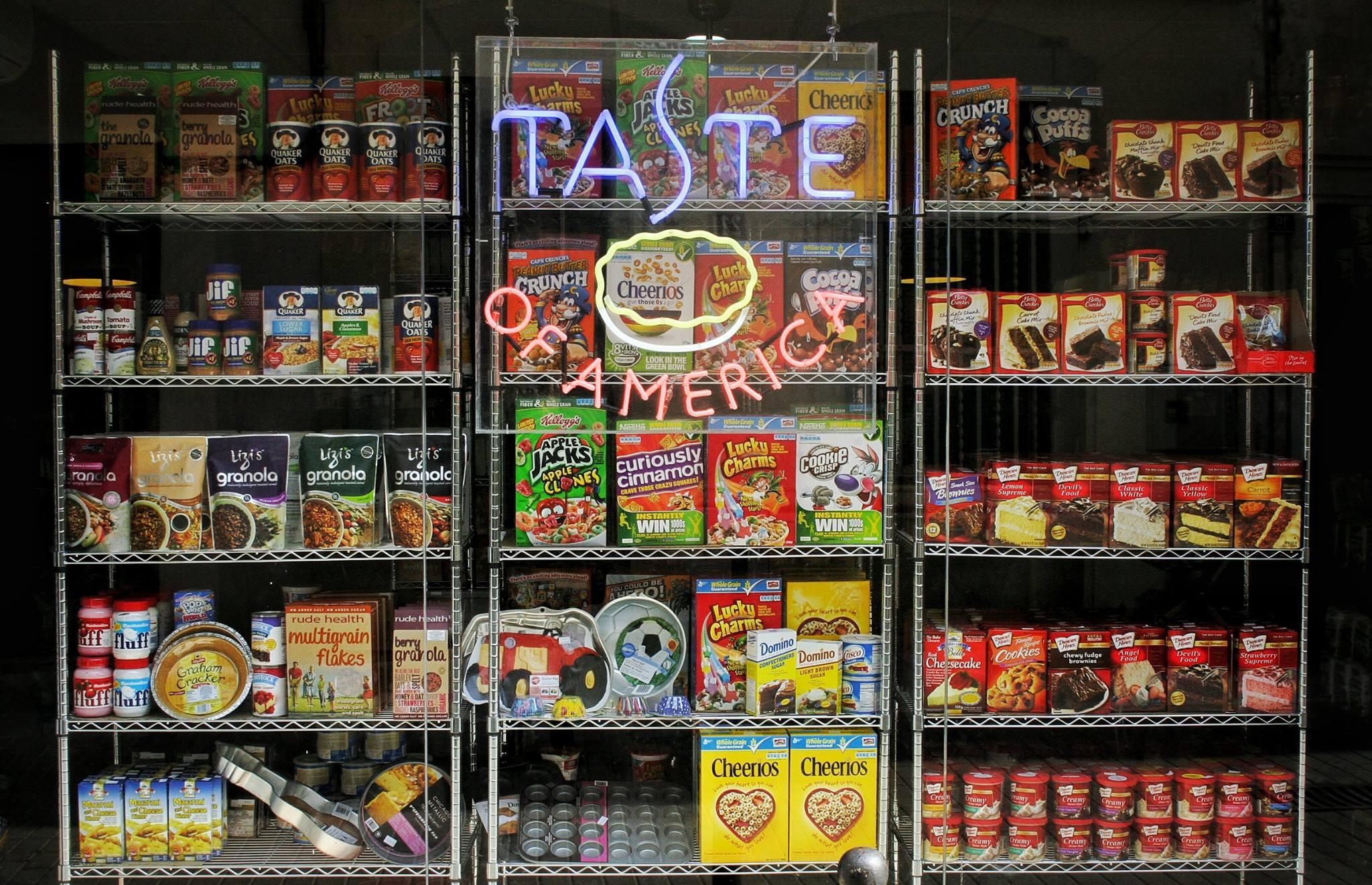 Taste of America / Desarrollo de Marca - Venta Online